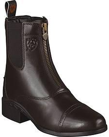 Ariat Heritage Zipper Paddock Riding Boots - Round Toe