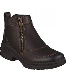 Ariat Waterproof Barnyard Zip Riding Boots - Round Toe