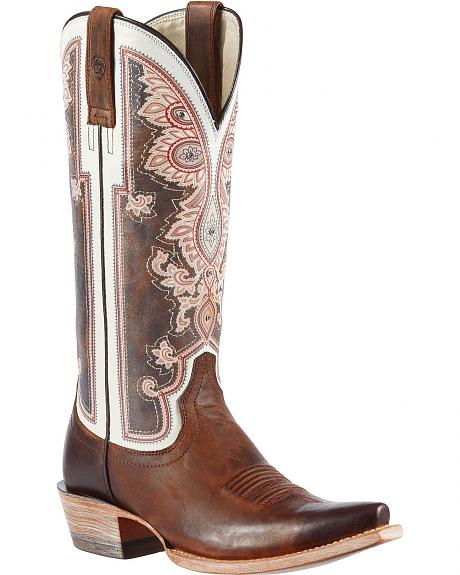 Ariat Alameda Vintage Cowgirl Boots - Snip Toe