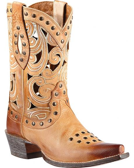 Ariat Paloma Cowgirl Boots - Snip Toe