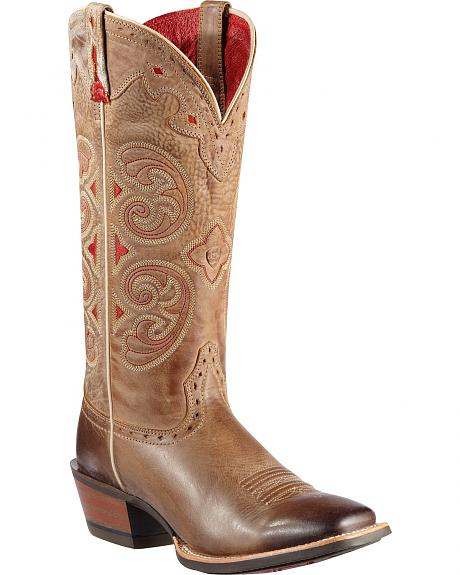Ariat Madrina Cowgirl Boots - Square Toe