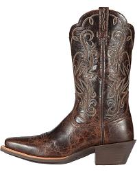 Ariat Legend Chocolate Chip Cowgirl Boots - Sq Toe at Sheplers
