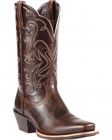 Ariat Legend Chocolate Chip Cowgirl Boots - Snip Toe