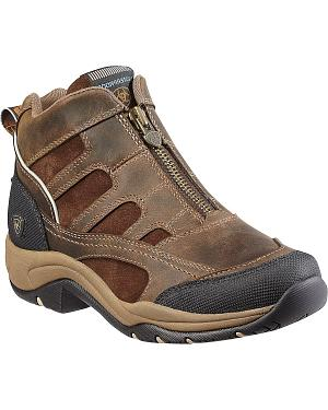Ariat Womens Waterproof Zip-Up Terrain Shoes
