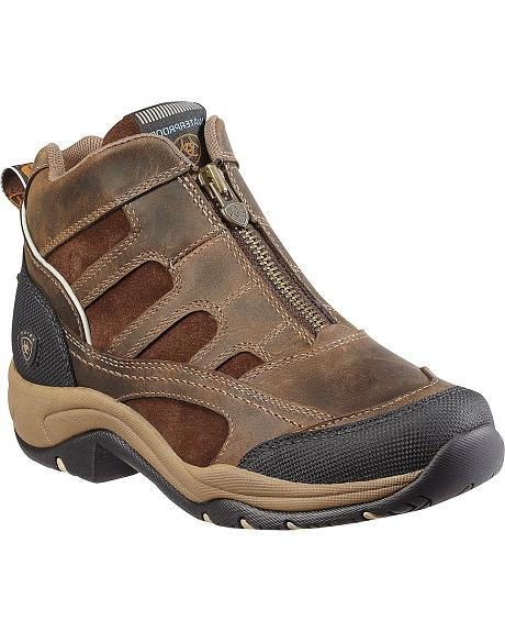 Ariat Women's Waterproof Zip-Up Terrain Shoes