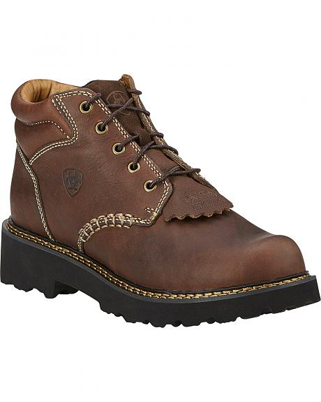 Ariat Canyon Lace-Up Work Boots - Round Toe