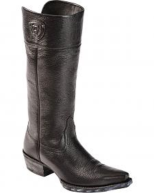 "Ariat Chandler 14"" Cowgirl Riding Boots - Pointed Toe"