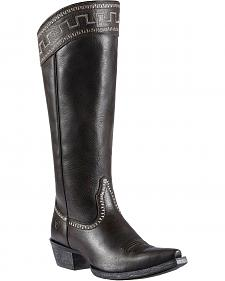 "Ariat Sahara 15"" Cowgirl Riding Boots - Snip Toe"