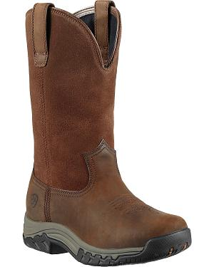 Ariat Womens Terrain H2O Pull-On Boots - Round Toe