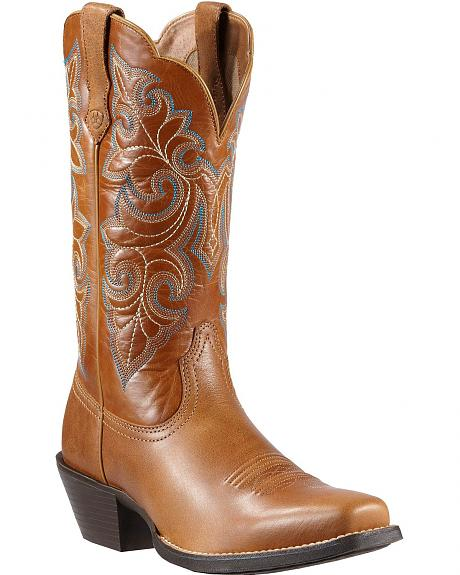 Ariat Roundup Cowgirl Boots - Square Toe