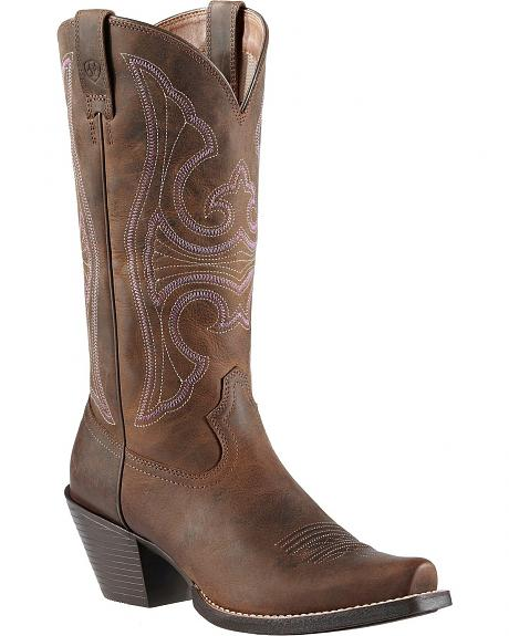 Ariat Roundup Cowgirl Boots - Snip Toe