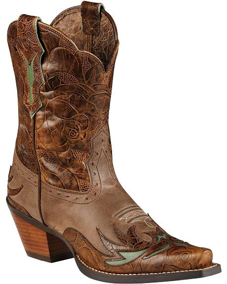Ariat Dahlia Cowgirl Boots - Snip Toe