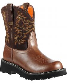 Ariat Fatbaby Cowgirl Boots - Round Toe