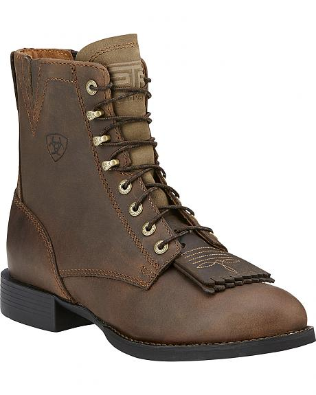 Ariat Women's Heritage Lacer Boots - Round Toe
