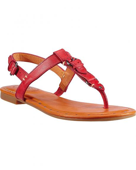 Ariat Red Stratford Sandals