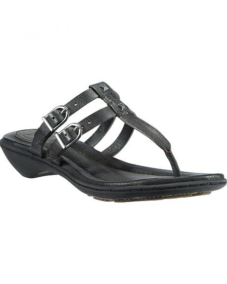 Ariat Black Weymouth Slide Sandals