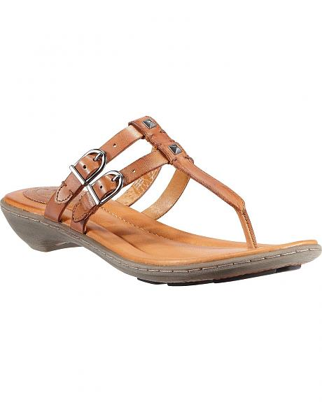 Ariat Tan Weymouth Slide Sandals