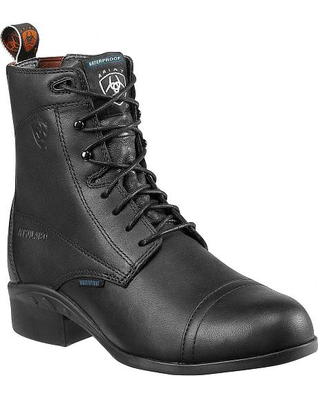 Ariat Heritage Lace-Up Waterproof Paddock Riding Boots