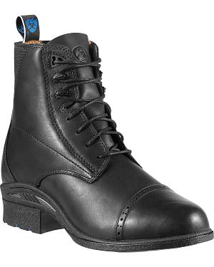 Ariat Performance Pro Lace-Up Black Boots