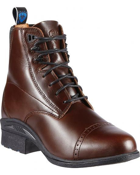 Ariat Performance Pro Lace-Up Brown Boots