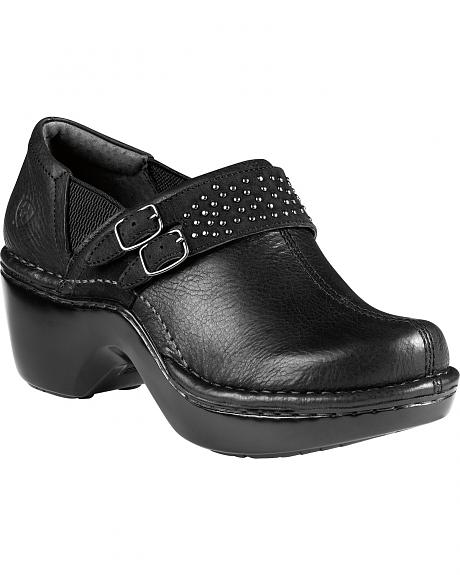 Ariat Double Buckle Leather Clogs