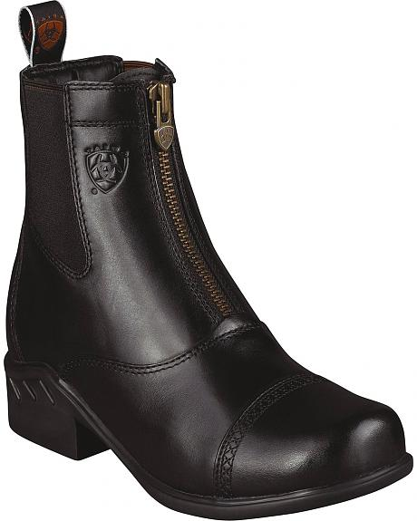Ariat Heritage Paddock Zip-Up Riding Boots - Round Toe