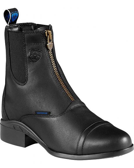 Ariat Heritage H2O Zipper Riding Boots - Round Toe