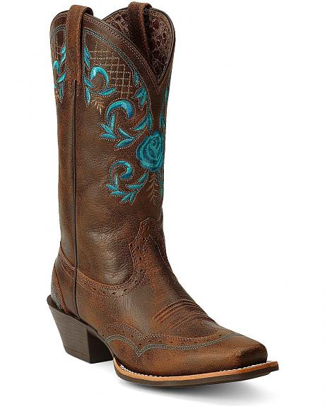 Ariat Terrace Acres Cowgirl Boots - Square Toe