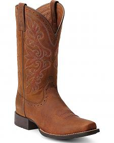 Ariat Rundown Cowgirl Boots - Square Toe