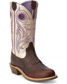 Ariat Shadow Rider Cowgirl Boots - Round Toe