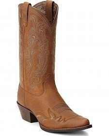 Ariat Heritage Western Wingtip Cowgirl Boots - Pointed Toe
