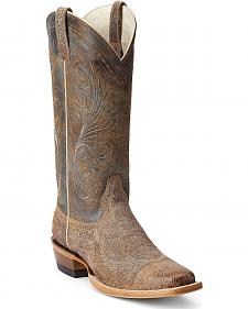Ariat Catalina Crackle Cowgirl Boots - Square Toe