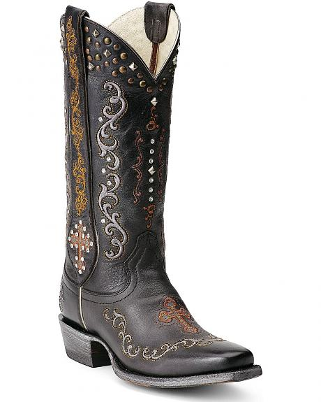 Ariat Gilded Gypsy Cowgirl Boots - Square Toe
