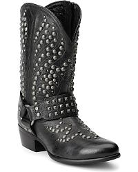 Womens Harness / Motorcycle Boots