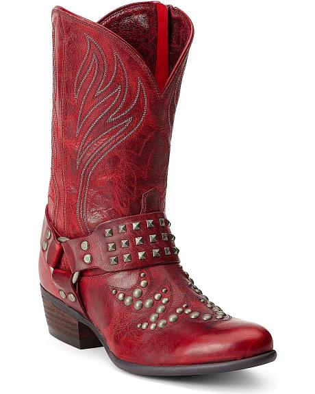 Ariat Epic Studded Harness Boots - Round Toe