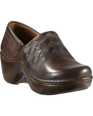 Ariat Ashbourne Braided Clogs