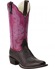 Ariat Good Times Cowgirl Boots - Square Toe