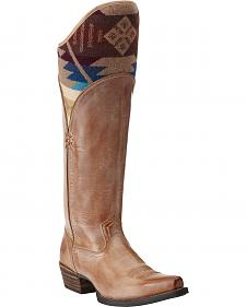 Ariat Caldera Pendleton Tall Riding Boots - Snip Toe
