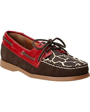 Ariat Palisade Giraffe Print Casual Shoes