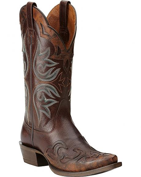 Ariat Haven Wingtip Cowgirl Boots - Snip Toe