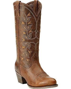 Ariat Desert Holly Cowgirl Boots - Round Toe