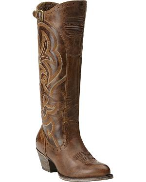 Ariat Wanderlust Tall Cowgirl Riding Boots - Medium Toe