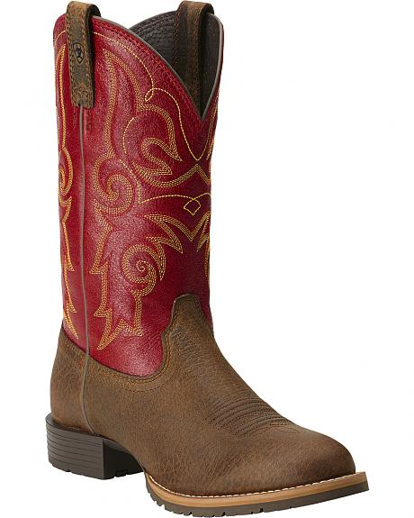 Ariat Hybrid Rancher Cowgirl Boots - Round Toe