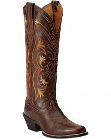 Ariat Lantana Tall Cowgirl Boots - Square Toe