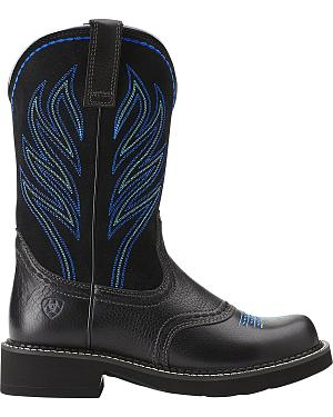 Ariat Probaby Flame Cowgirl Boots - Round Toe