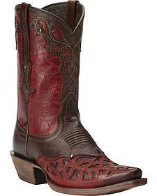 Ariat Vera Cruz Overlay Cowgirl Boots - Snip Toe