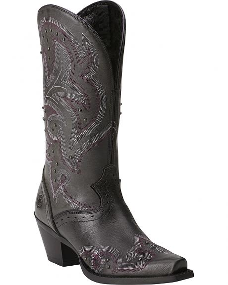 Ariat Spellbound Studded Cowgirl Boots - Snip Toe