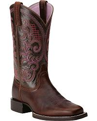 Ariat Quantum Performer Cowgirl Boots - Square Toe at Sheplers