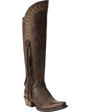 Ariat Womens Tallulah Prairie Brown Tall Boots
