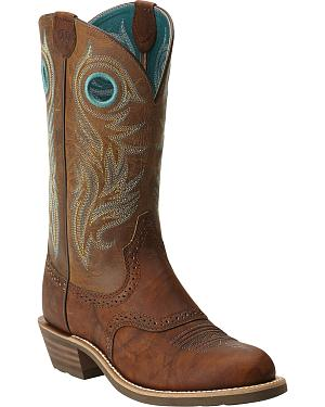 Ariat Womens Shadow Rider Boots - Round Toe